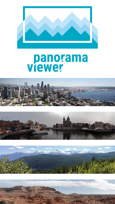 Screenshot of Panorama viewer on mobile phone